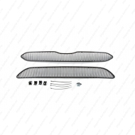"Сетка ""Arbori"" в решётку бампера, черная 20мм. для Honda CR-V V до рестайлинга 2015-2019. Артикул: 01-230415-201"
