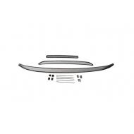 "Сетка внешняя ""Arbori"" в бампер, черная 10мм для Mitsubishi Outlander III 2015-2018. Артикул: 01-380715-101"