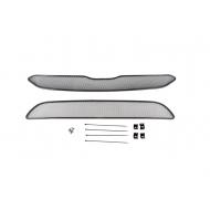 "Сетка ""Arbori"" в решётку бампера, черная 10мм. для Honda CR-V V до рестайлинга 2015-2019. Артикул: 01-230415-101"