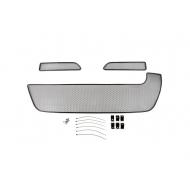 """Сетка """"Arbori"""" в решётку бампера, черная 10мм. для RENAULT Duster 2015-2020 для комплектаций Privilege/Luxe Privilege. Артикул: 01-430915-101"""