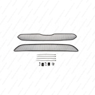 "Сетка ""Arbori"" в решётку бампера, черная 15мм. для Honda CR-V V до рестайлинга 2015-2019. Артикул: 01-230415-151"