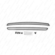 """Сетка """"Arbori"""" в решётку бампера, черная 15мм. для Kia Optima IV 2015-2017. Артикул: 01-301315-151"""