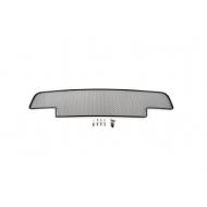 """Сетка """"Arbori"""" в решётку бампера, черная 10мм. для RENAULT Duster2010-2015 для автомобилей с дневными ход.огнями. Артикул: 01-430410-101"""