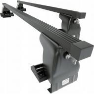 "Багажник на крышу ""Amos Dromader Plus"" креп. за дверные проемы для Dodge Charger седан 2006-2020 (Прямоугольные дуги). Артикул: D-1-o1.4-plus"