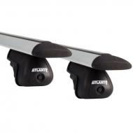 """Багажник на рейлинги """"Atlant"""" для Brilliance BS4 универсал 2009-2015 (Аэродинамические дуги). Артикул: 8810+8828"""
