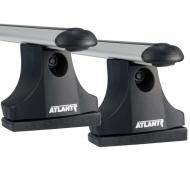 """Багажник на крышу """"Atlant"""" креп. на штатные места для Mitsubishi Outlander I 2003-2005 (Аэродинамические дуги). Артикул: 8845+8809+8827"""