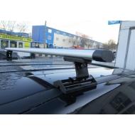 """Багажник на крышу """"INTER C-15"""" на штатные места для Renault Scenic, Grand Scenic II 5-дв. 2003-2008 (Аэродинамические дуги). Артикул: 5519+1006"""
