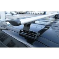 "Багажник на крышу ""INTER C-15"" на штатные места для Renault Scenic, Grand Scenic II 5-дв. 2003-2008 (Аэро-крыло дуги). Артикул: 5519+1206"