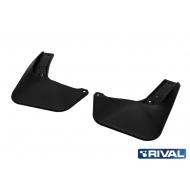 """Брызговики """"Rival"""" передняя пара для Mazda CX-5 II 2017-2020. Артикул: 23803003"""