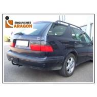 "Фаркоп ""Aragon"" для Saab 9-5 I седан, универсал 1997-2010. Артикул: E5501AA"