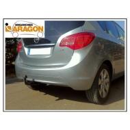 "Фаркоп ""Aragon"" для Opel Meriva B 2010-2018. Артикул: E4515BA"