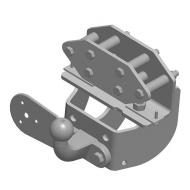 """Фаркоп """"AvtoS"""" для ГАЗ Газель Next (A22R22, A22R32) 2013-2020. Фланцевое крепление. Артикул: GAZ-10"""