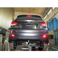 """Фаркоп """"Baltex"""" для Hyundai ix35 2010-2020. Артикул: 10.1924.12"""