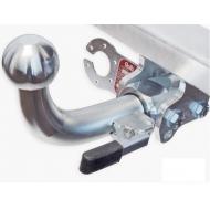 "Фаркоп ""Galia"" оцинкованный для Alfa Romeo Mito 2008-2020. Быстросъемный крюк. Артикул: F101C"