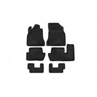 """Коврики """"Element"""" в салон Citroen C4 Grand Picasso I 2006-2013 (3 ряда сид.). Артикул CARCRN00021"""