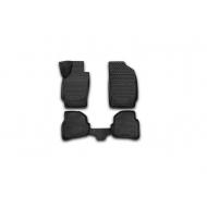 "Коврики ""Element"" в салон Volkswagen Polo V седан 2010-2020. Артикул NLC.3D.51.30.210k"
