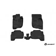 """Коврики 3D """"Element"""" в салон Mitsubishi Pajero Sport III 2015-2020. Артикул ELEMENT3D3546210"""