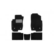 Коврики текстильные Klever c логотипом в салон FAW Besturn X80 2017-2020. Артикул FAW1410200