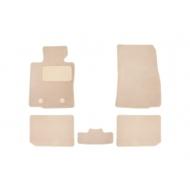 "Коврики текстильные ""Klever Premium"" в салон Mini Cooper Countryman I АКПП хэтчбек 2010-2017 БЕЖЕВЫЕ. Артикул KLEVER04850222112kh"