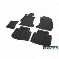 """Коврики """"Rival"""" в салон Subaru Forester IV 2012-2018. Артикул 15401001"""