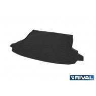 "Коврик ""Rival"" в багажник для Subaru Forester V (без сабвуфера) 2018-2020. Артикул 15401004"
