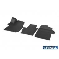 "Коврики ""Rival"" в салон Volkswagen Crafter II 2016-2020. Артикул 15811001"