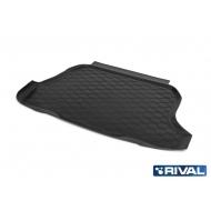 """Коврик """"Rival"""" в багажник для Chery Tiggo 2 2017-2020. Артикул 10904002"""
