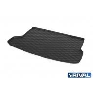 """Коврик """"Rival"""" в багажник для Kia Seltos (с сабвуфером) 2020-2020. Артикул 12810003"""