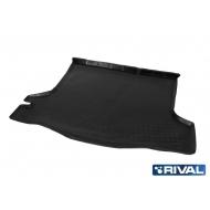 "Коврик ""Rival"" в багажник для Renault Logan II седан 2014-2018 2018-2020. Артикул 14702002"