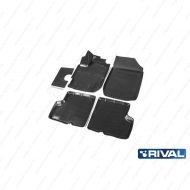 "Коврики ""Rival"" в салон Renault Kaptur 2016-2020. Артикул 14707001"