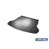 """Коврик """"Rival"""" в багажник для Kia Rio IV седан 2017-2020. Артикул 12305008"""