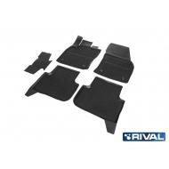 "Коврики ""Rival"" в салон Volkswagen Tiguan II 2016-2020. Артикул 65805002"