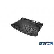 "Коврик ""Rival"" в багажник для Renault Sandero I хэтчбек 2009-2014. Артикул 14703002"