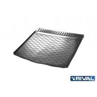 """Коврик """"Rival"""" в багажник для Renault Kaptur (FWD) 2016-2020. Артикул 14707003"""