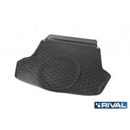 "Коврик ""Rival"" в багажник для Kia Optima IV седан (Luxe, Prestige, GT, GT Line) 2016-2020. Артикул 12807003"