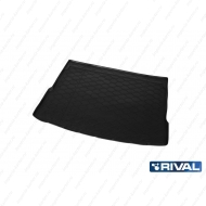 "Коврик ""Rival"" в багажник для Volkswagen Tiguan II (ровный пол) 2016-2020. Артикул 15805005"