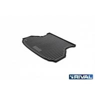 """Коврик """"Rival"""" в багажник для Lada Granta лифтбек 2011-2018 2018-2020. Артикул 16001003"""