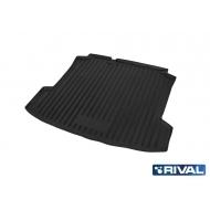 "Коврик ""Rival"" в багажник для Volkswagen Polo V седан 2010-2015 2015-2020. Артикул 15804002"