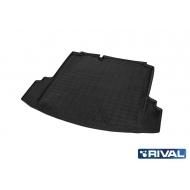 "Коврик ""Rival"" в багажник для Volkswagen Jetta VI седан 2010-2015 2014-2020. Артикул 15802002"