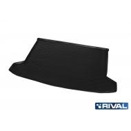 """Коврик """"Rival"""" в багажник для Kia Rio X-Line хэтчбек 2017-2020. Артикул 12803009"""