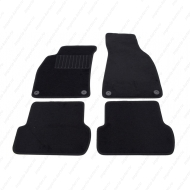 "Коврики текстильные ""SV-Design"" в салон Audi A4 B6, B7 2001-2009. Артикул 1206-UNF3-14P"