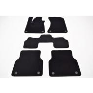 """Коврики текстильные """"SV-Design"""" в салон Audi A8 D4 2013-2017. Артикул 1220-UNF3-15P"""