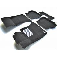 "Коврики текстильные ""Euromat Lux"" 3D в салон BMW 5 F10 2010-2013. Артикул EM3D-001205"