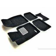 """Коврики текстильные """"Euromat Lux"""" 3D в салон Mini Сooper 2014-2020. Артикул EM3D-005600"""