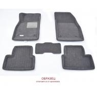 """Коврики текстильные """"Euromat Lux"""" 3D в салон BMW X5 E53 2000-2006 Темно-серые. Артикул EM3D-001211G"""