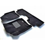 "Коврики текстильные ""Euromat Business"" 3D в салон Cadillac SRX II 2010-2020. Артикул EMC3D-001304"