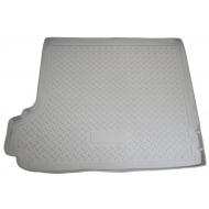 """Коврик """"Норпласт"""" в багажник BMW X3 E83 2003-2010. Серый. Артикул NPL-P-07-06Grey"""