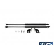 "Амортизаторы капота ""Rival"" для Chevrolet Aveo II T300 2011-2015. Артикул: A.ST.1002.1"