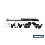 """Амортизаторы капота """"Rival"""" для Ford Explorer V 2010-2018 2018-2020. Артикул: A.ST.1804.1"""