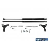"""Амортизаторы капота """"Rival"""" для Ford Focus II 2005-2011. Артикул: A.ST.1810.1"""